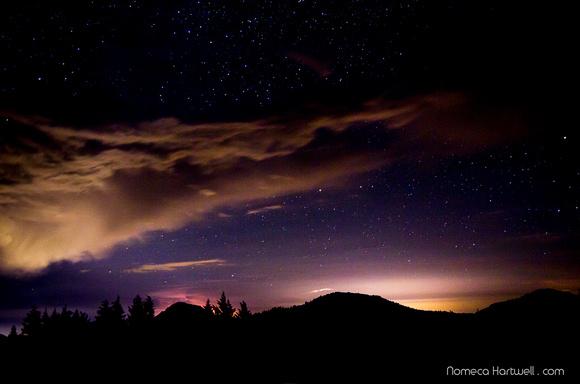 Glowing Hill