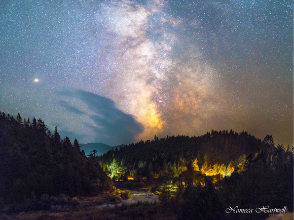 Smoky Stars Over Galice